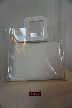 STAUD SHIRLEY BAG | CLEAR WHITE NP210€ ungebraucht