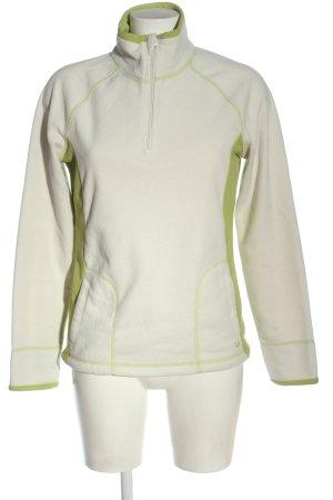 Stay warm Fleece Jackets white-light orange elegant