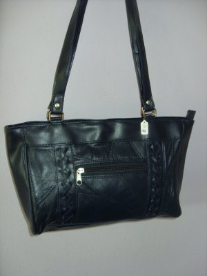 STE-39  Handtasche, Damentasche, Markentasche, Schultertasche, Ladies, Women BagBlau