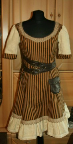 Steampunk Kleid Gr. 36 Mary Gold