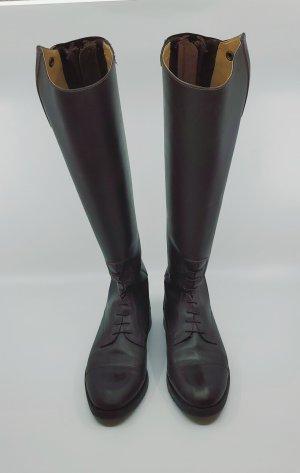 Steeds Buty jeździeckie ciemnobrązowy-czarno-brązowy