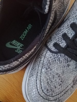 Nike Zapatos de patinador color plata