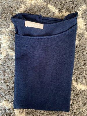 Stefanel T-shirt donkerblauw