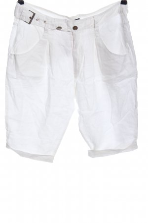 Stefanel Shorts weiß Casual-Look