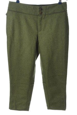 Stefanel 3/4-broek khaki gestippeld casual uitstraling