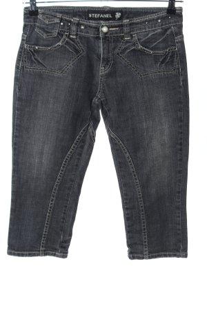 Stefanel 3/4-jeans lichtgrijs casual uitstraling