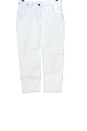 Stefanel Jeans boyfriend blanc style décontracté