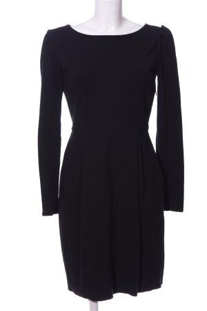 Stefanel A-Linien Kleid blau Business-Look