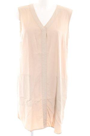 Stefanel A-Linien Kleid creme Casual-Look