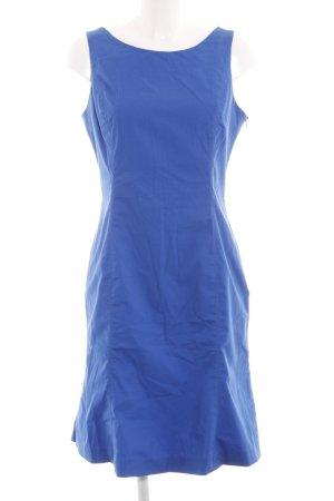 Stefanel A-Linien Kleid blau Casual-Look