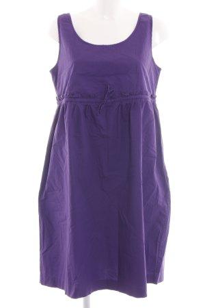 Stefanel A-Linien Kleid lila Casual-Look
