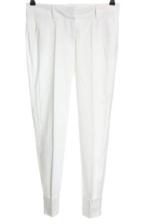 Stefanel Anzughose weiß Elegant