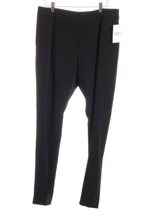 Stefanel Anzughose schwarz Elegant