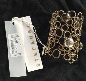 Stefanel Bracelet en or multicolore métal