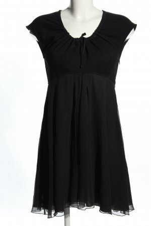 Stefanel Babydoll Dress black casual look