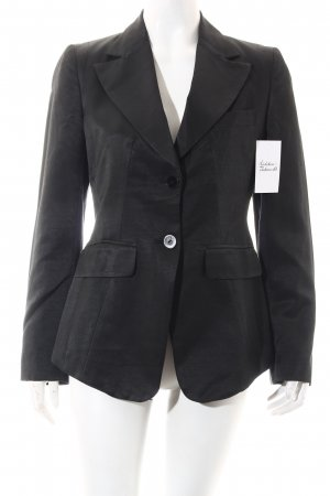 Stefanel Blazer schwarz Business-Look