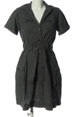 Stefanel Sukienka koszulowa jasnoszary W stylu casual