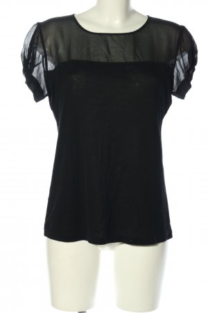Stefanel Blouse Top black casual look