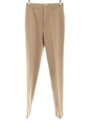 Stefanel Pleated Trousers cream business style