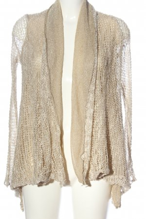 Stefanel Cardigan creme Casual-Look