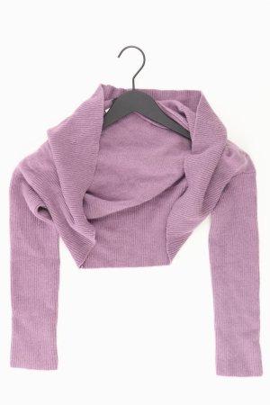 Stefanel Cardigan Größe S lila aus Wolle