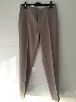Stefanel Pantalon chinos beige laine