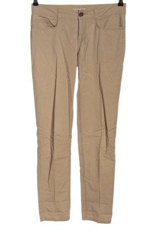 Stefanel Pantalone chino marrone stile casual