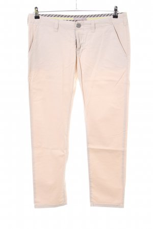 Stefanel Chinohose creme Casual-Look