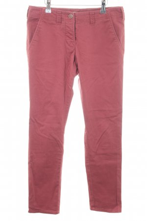 Stefanel Chinohose himbeerrot Casual-Look