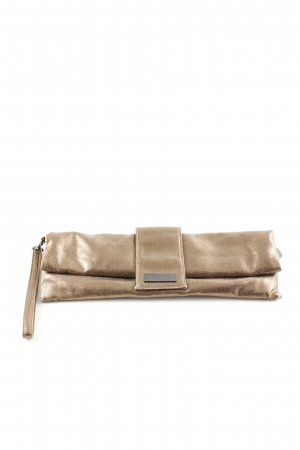 Stefanel Borsa clutch oro elegante