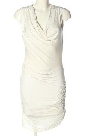 Stefanel Cocktailkleid wollweiß Elegant