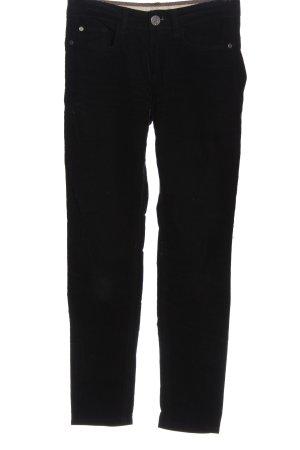 Stefanel Corduroy Trousers black casual look