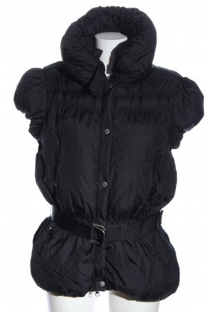 Stefanel Down Vest black casual look