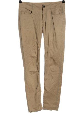 Stefanel Pantalón de cinco bolsillos marrón look casual