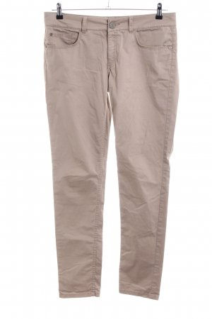 Stefanel Five-Pocket-Hose wollweiß Casual-Look