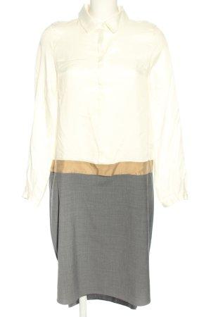 Stefanel Shirtwaist dress multicolored mixture fibre