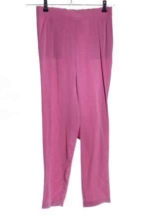 Stefanel High-Waist Hose pink Casual-Look