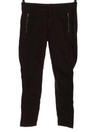 Stefanel High Waist Jeans schwarz Casual-Look
