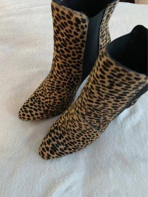 Stefanel Peep Toe Booties beige
