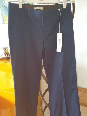 Stefanel Hose dunkelblau 107cm lang Gr.36 *neu*