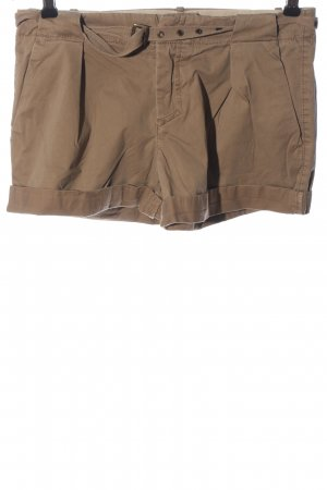 Stefanel Hot Pants bronze-colored casual look