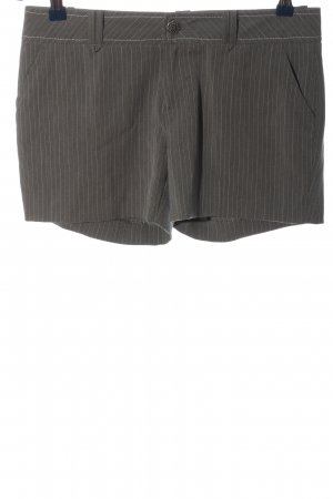 Stefanel Hot Pants light grey-white allover print casual look