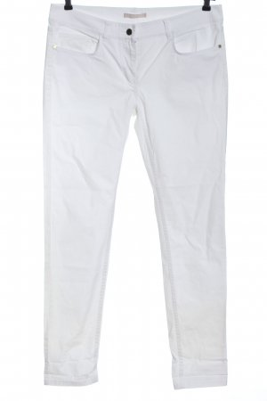 Stefanel Low-Rise Trousers white casual look