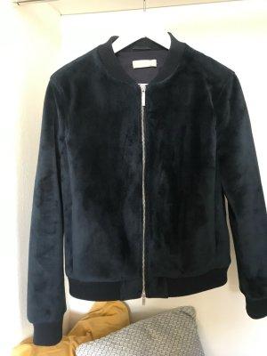 Stefanel Bomber Jacket dark blue