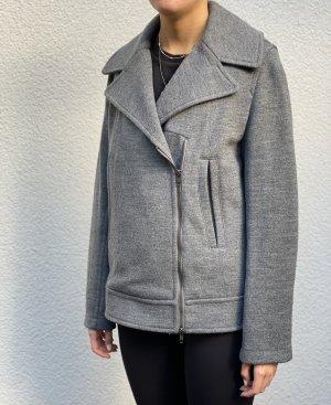 Stefanel Wełniany sweter szary