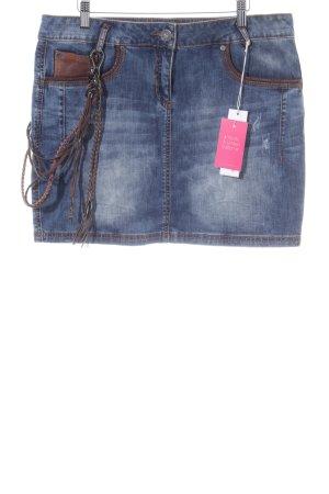 Stefanel Jeans Jeansrock blau Casual-Look