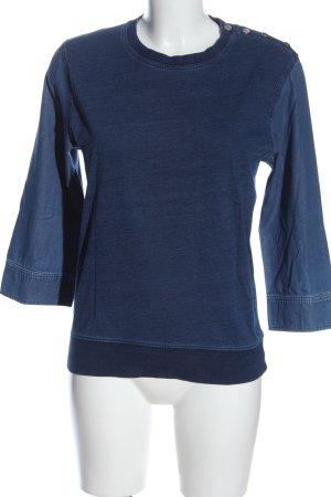 Stefanel Jeansbluse blau Casual-Look