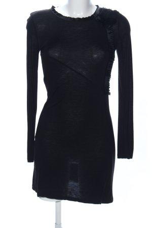 Stefanel Jerseykleid schwarz Casual-Look