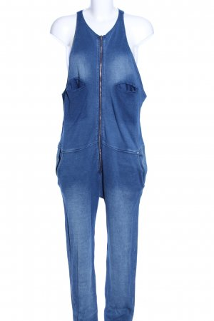 Stefanel Jumpsuit blau Casual-Look