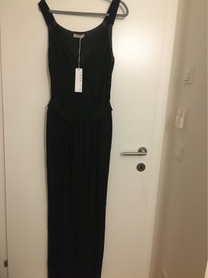 Stefanel Jumpsuit schwarz glitzernd elegantGr. XL Neu mit Etikett